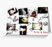 Bumps & Bebes Greeting Card