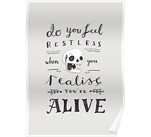 Do You Feel Restless… Poster