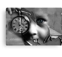 When Time Was A Child Canvas Print