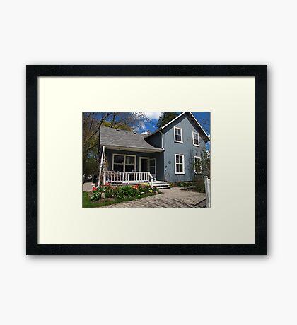 Mary's Yarn Framed Print