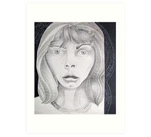 . . . horror stuns Art Print