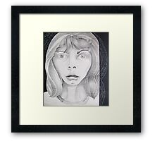 . . . horror stuns Framed Print