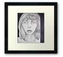 . . . horror stuns Framed Print