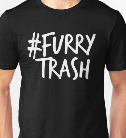 #FurryTrash -white- Unisex T-Shirt