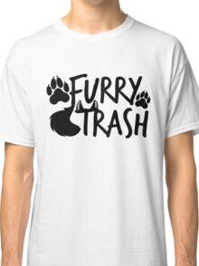 Furry Trash -black- Classic T-Shirt