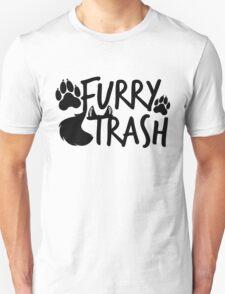 Furry Trash -black- Unisex T-Shirt