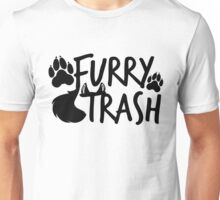 Furry Trash -black- Unisex T-Shirt