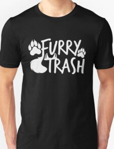 Furry Trash -white- T-Shirt