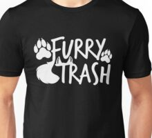 Furry Trash -white- Unisex T-Shirt
