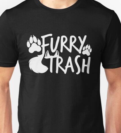 Furry Trash -white- Unisex T-Shirt