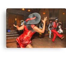 South Africa Dance Canvas Print