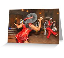 South Africa Dance Greeting Card