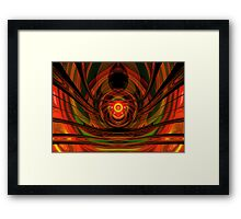 Weaving The Web Framed Print