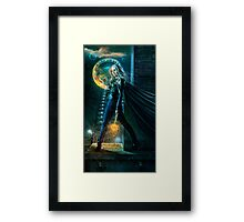 Caped Crusader Framed Print