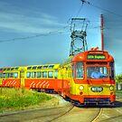 Blackpool Tram 672 by John Hare