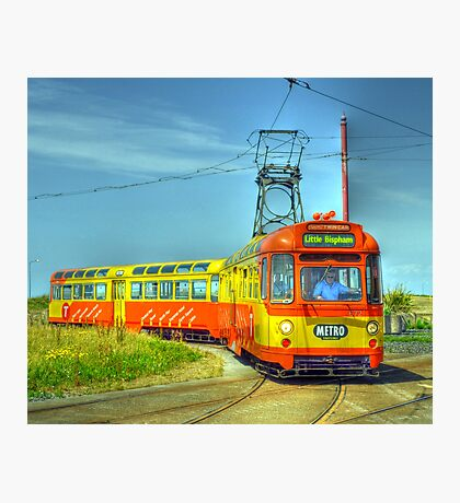 Blackpool Tram 672 Photographic Print