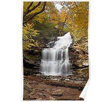 Ganoga Falls (Autumn) Poster