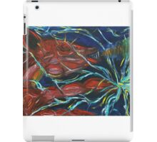 Thunderbolt Piggy Snorting Fire Threw its nose and Electricity threw its Hands  iPad Case/Skin