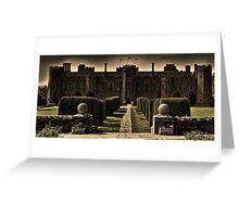 Herstmonceux Castle and Gardens Greeting Card