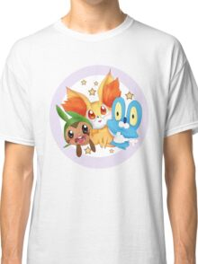 Pokemon xy starter  Classic T-Shirt