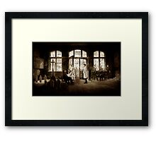 The Price We Pay Framed Print