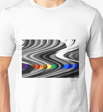 a slice of rainbow Unisex T-Shirt
