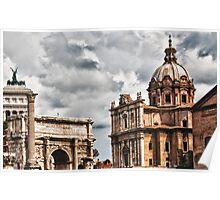 Roman Buildings 2 Poster