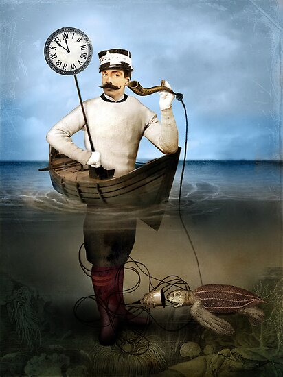 The speaking clock by Catrin Welz-Stein