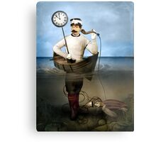 The speaking clock Metal Print