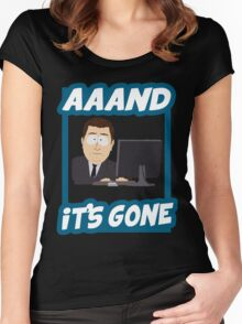 And it's gone - South Park Women's Fitted Scoop T-Shirt