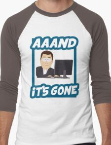 And it's gone - South Park Men's Baseball ¾ T-Shirt
