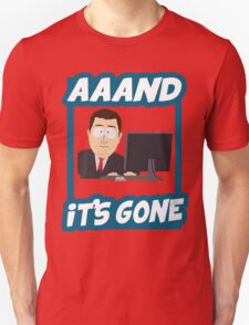 And it's gone - South Park Unisex T-Shirt