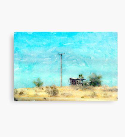 California Shack Canvas Print