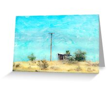 California Shack Greeting Card