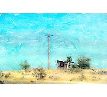 California Shack Photographic Print