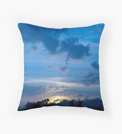 Day into Night - Kingston, UK Throw Pillow