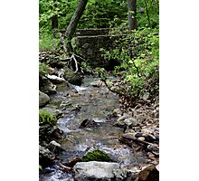 Bridge Over Cold Spring Waters Photographic Print