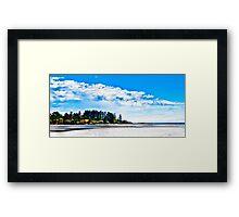 Witty's Lagoon Esquimalt BC Canada Framed Print