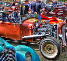 Busy HDR by Ricky Pfeiffer