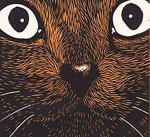 Cat Face by Edmund Hodges