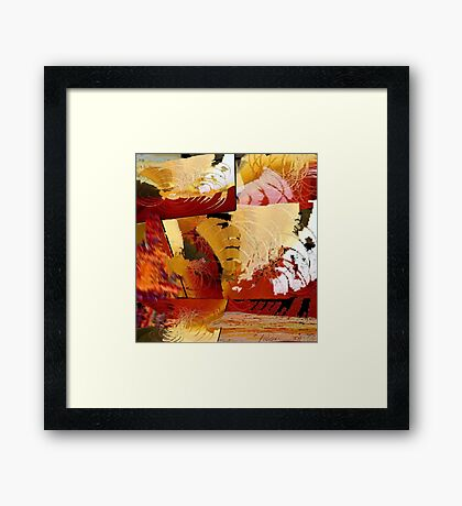 """Redeeming Features"" Framed Print"