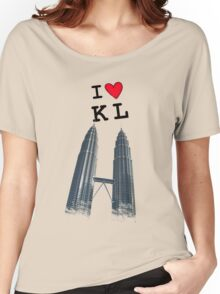 I Love Twin Towers Women's Relaxed Fit T-Shirt