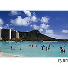 Waikiki Beach, Oahu Hawaii by Ryan Epstein