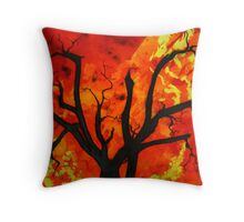 The Victorian Bushfires Throw Pillow