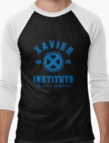Xavier Institute (Blue) Men's Baseball ¾ T-Shirt