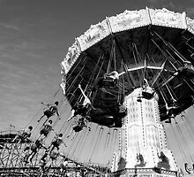 Carnival Rides in Vancouver by Rae Tucker