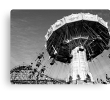 Carnival Rides in Vancouver Canvas Print