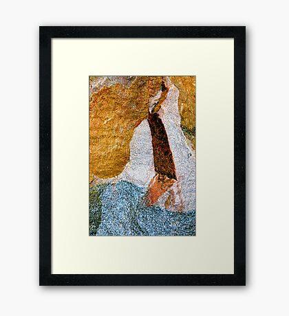 Aged Art Framed Print