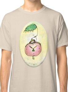 Summertime.Hand draw  ink and pen, Watercolor, on textured paper Classic T-Shirt