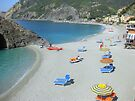 Montorosso Beach Cinque Terre Italy  by Neville Gafen